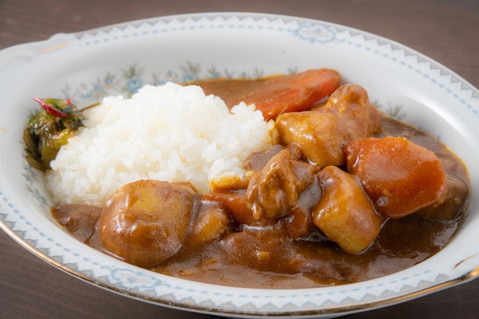 Inaka Curry:田舎カレー¥800